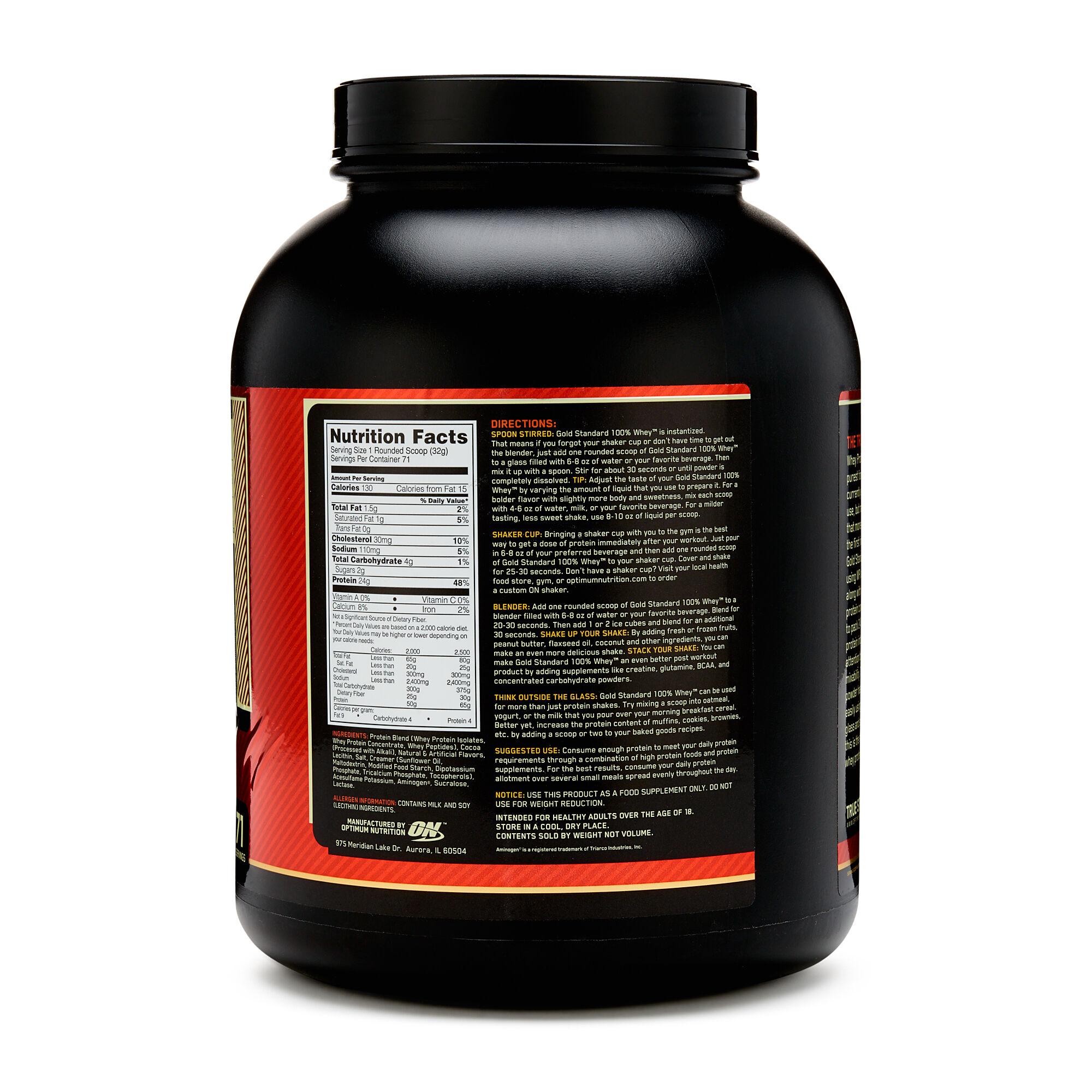 Сильные и слабые стороны whey protein 100% gold standart от optimum nutrition
