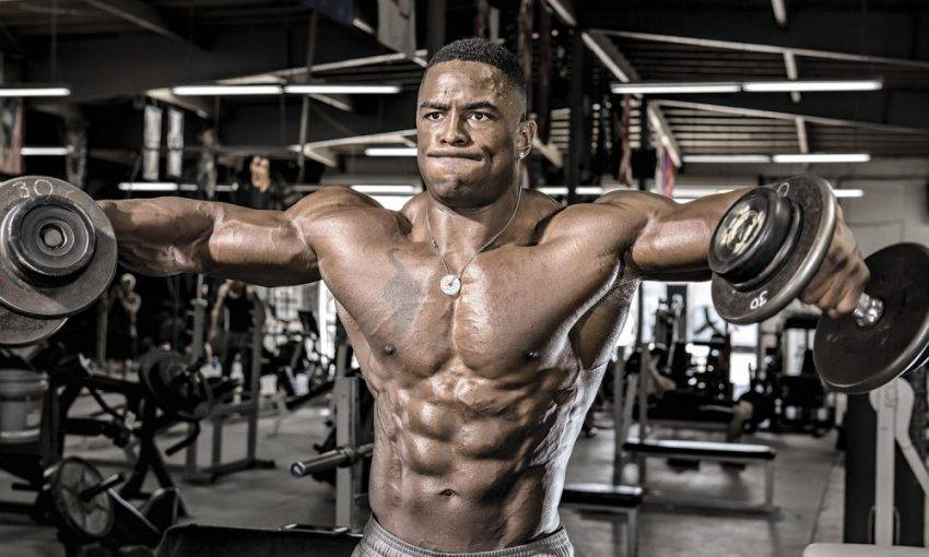 5 мощных упражнений на плечи, которые увеличат их в два раза