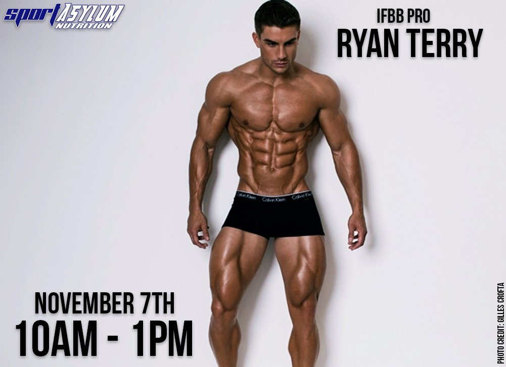 Ryan terry - greatest physiques