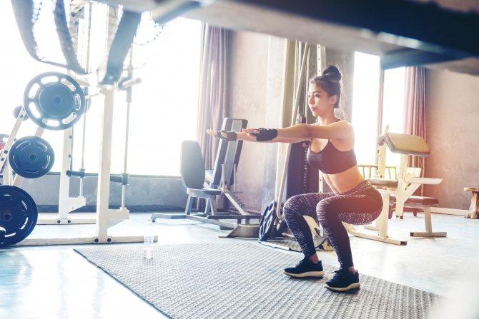 Качаются ли ноги и какие мышцы работают на беговой дорожке при ходьбе и беге?