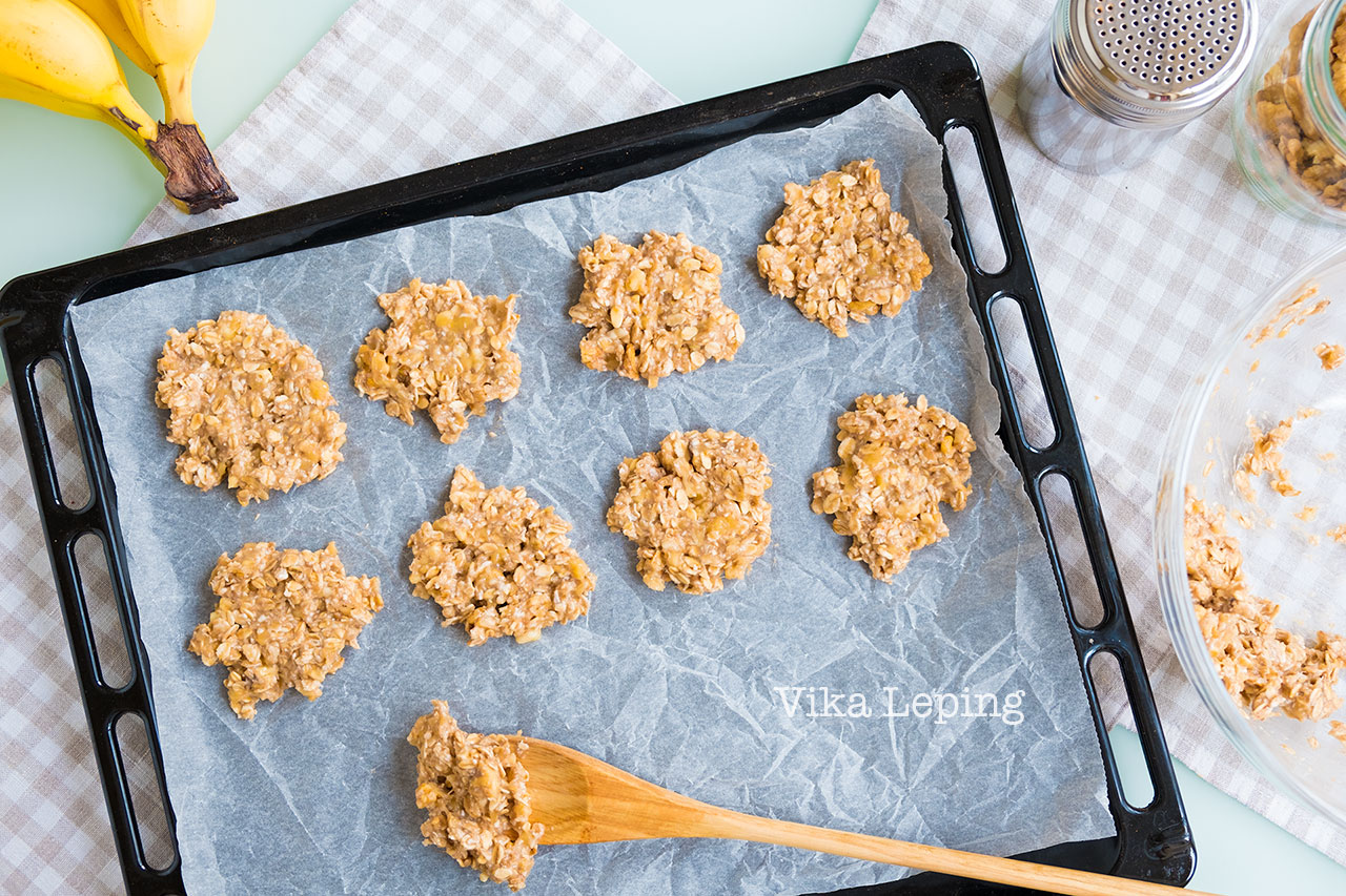Готовим вкусное творожно-овсяное печенье