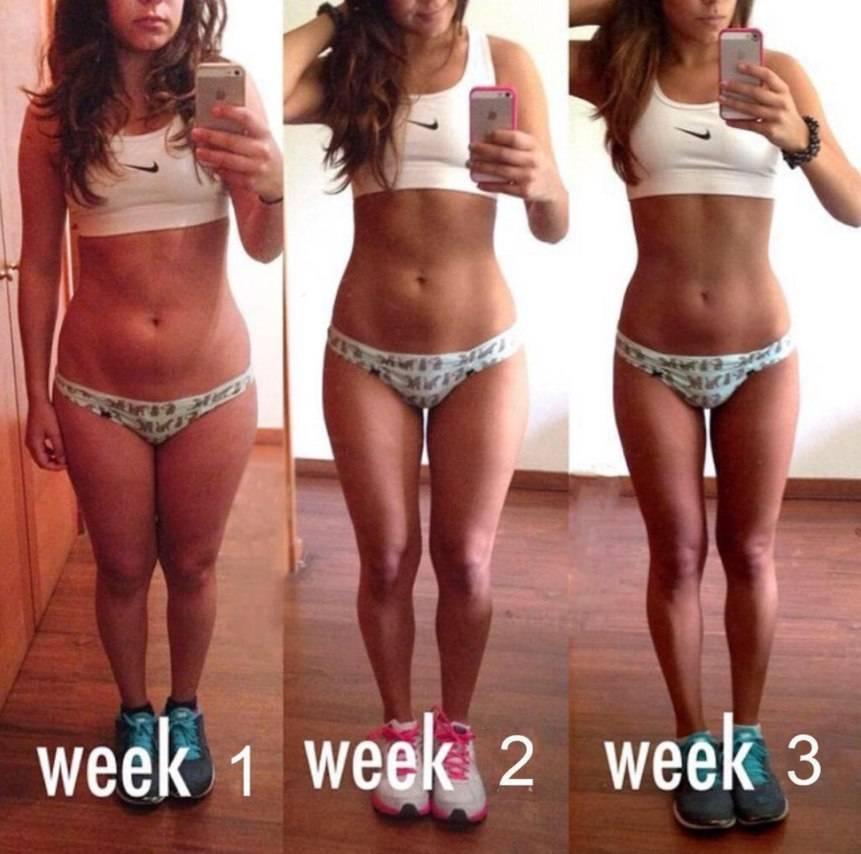 Сушка тела для девушек с меню по дням на 2 недели