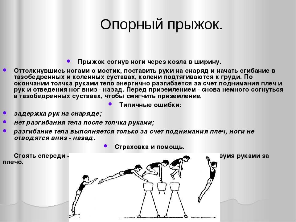 Прыжок через козла – популярное гимнастическое упражнение