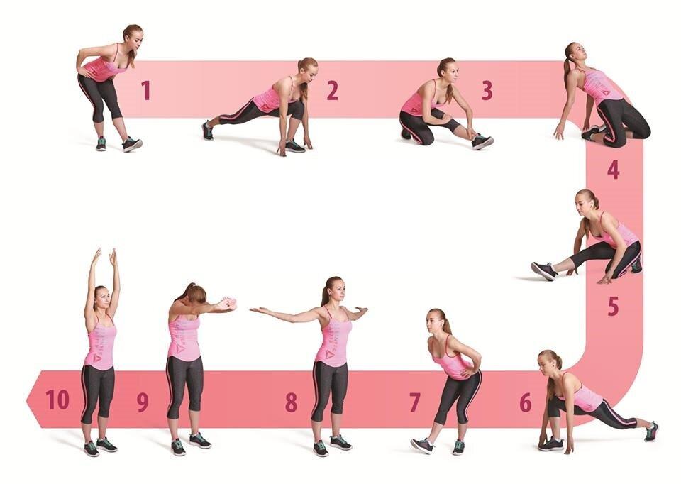 Когда лучше делать упражнения на растяжку: до или после тренировки? • кнопка здоровье