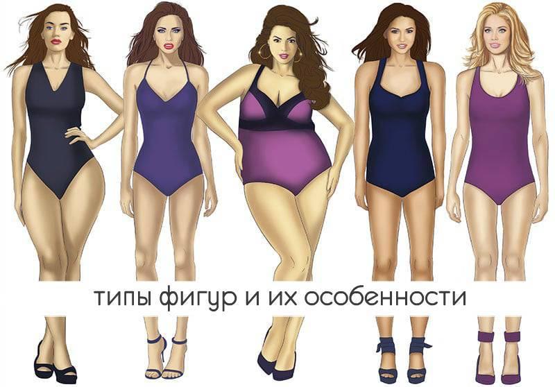 Идеальные женские пропорции | таблица женских пропорций