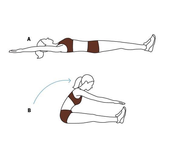 Подъем ног лежа: эффективное упражнение для прокачки пресса