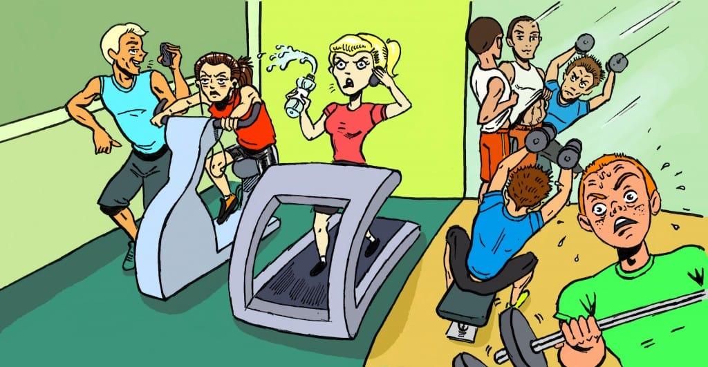 10 принципов этикета во время тренировок или правила поведения в спортзале