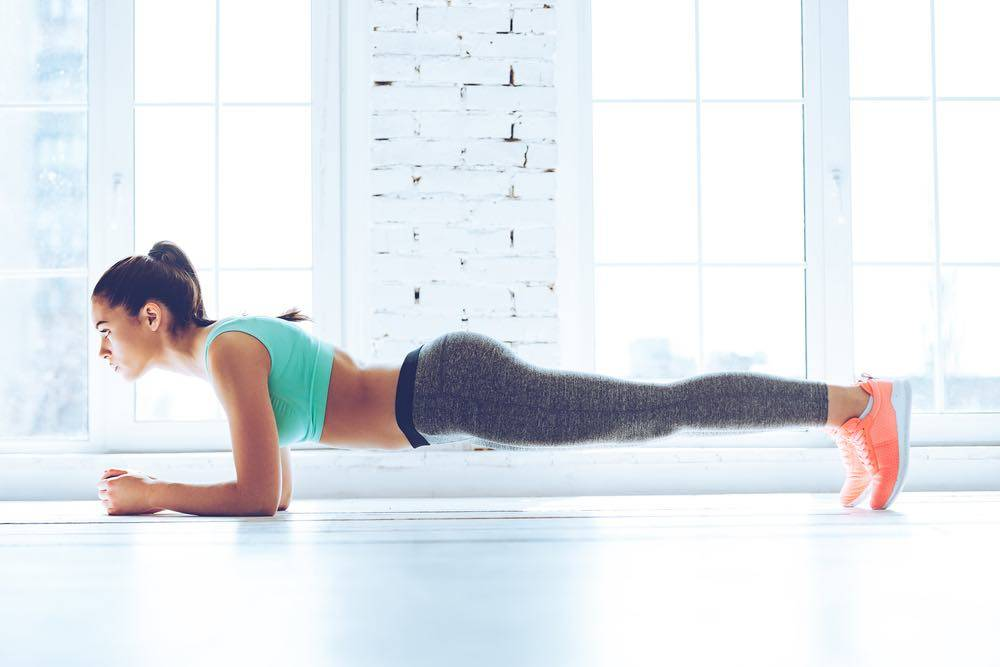 Упражнение планка: как правильно делать