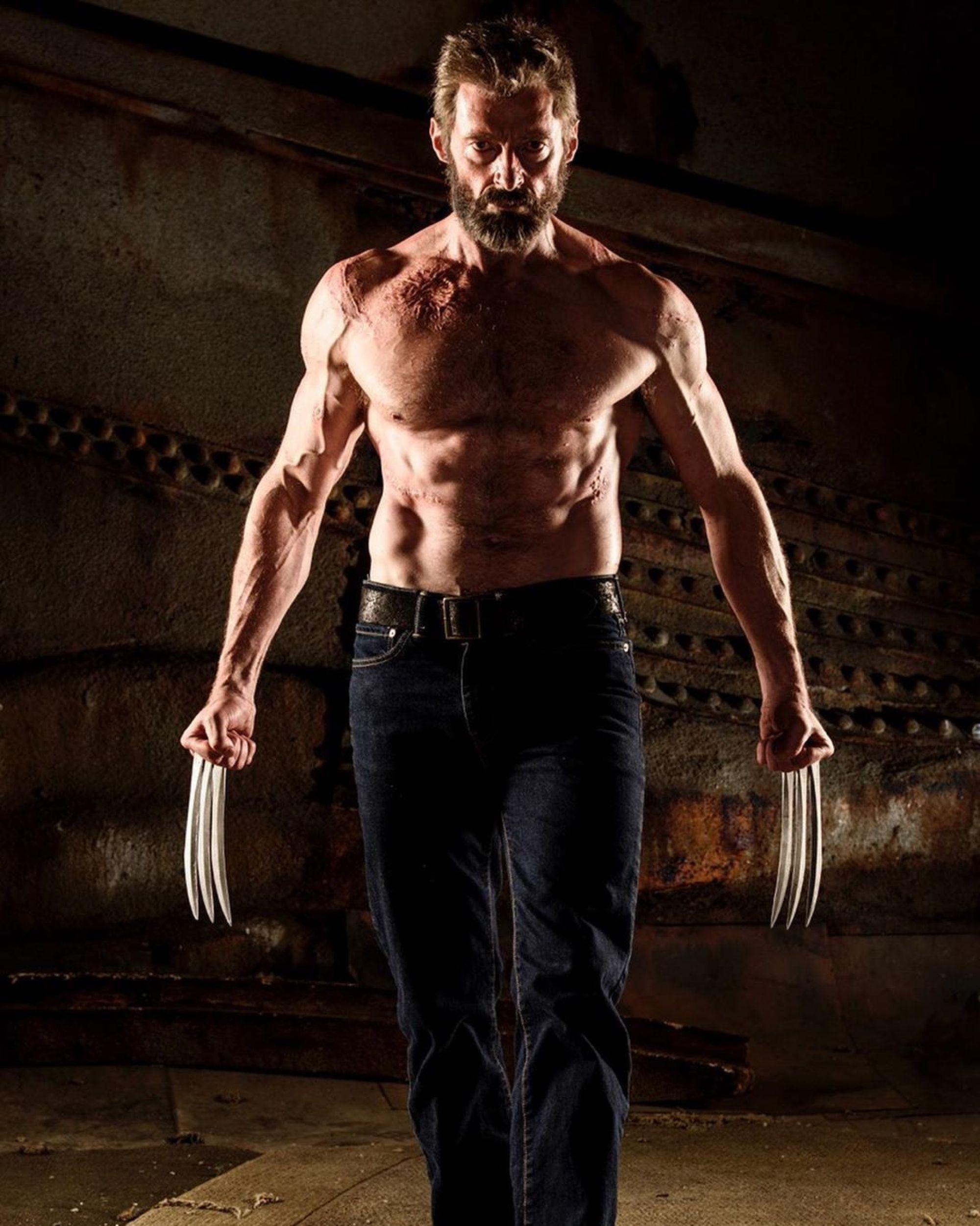 """Хью джекман (hugh jackman): тренировка для роли в к/ф """"росомаха"""""""