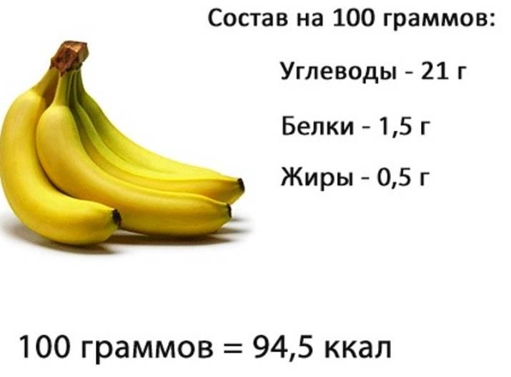 Сушеные бананы: польза и вред для организма, калорийность, состав