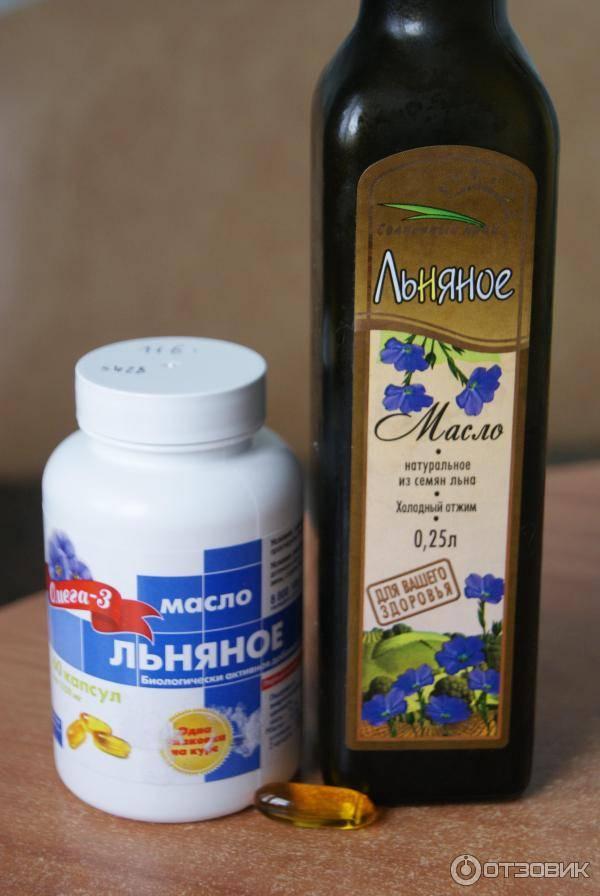 Льняное масло для похудения: польза и как принимать