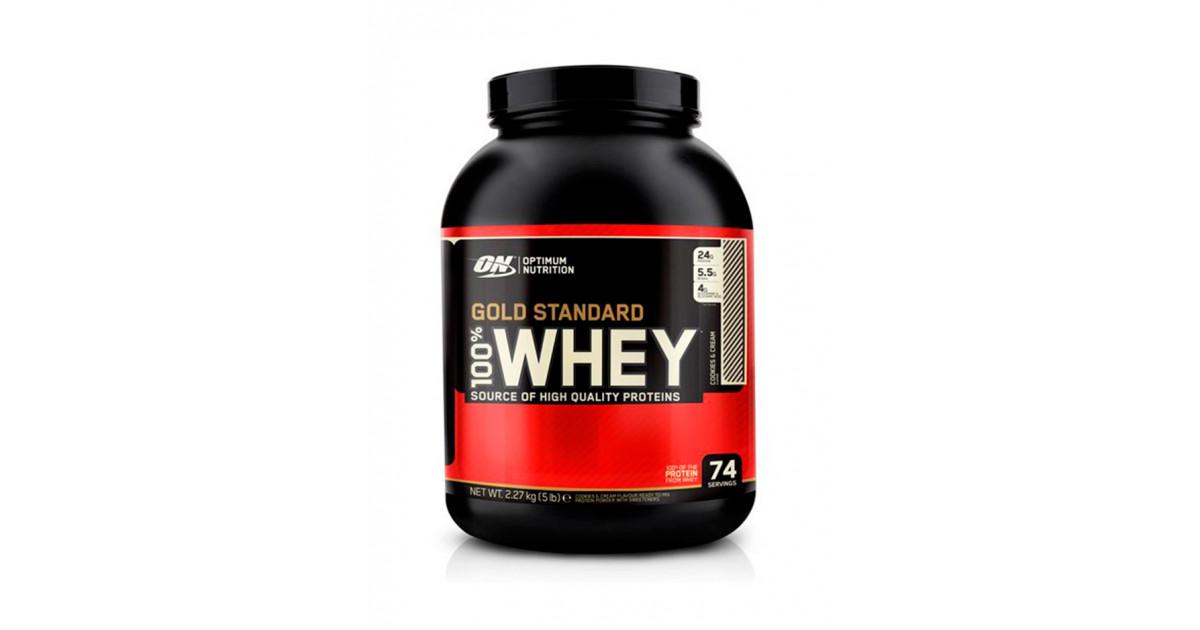 Обзор «100% whey gold standard» от optimum nutrition