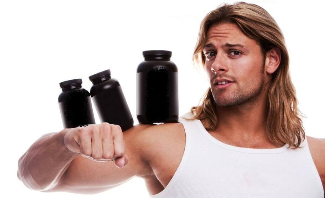 Можно ли поправиться от протеина худому мужчине, в частности от сывороточного, и как выбрать лучший для набора веса парню?