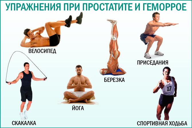 Спорт при геморрое: виды спорта, упражнения, запреты