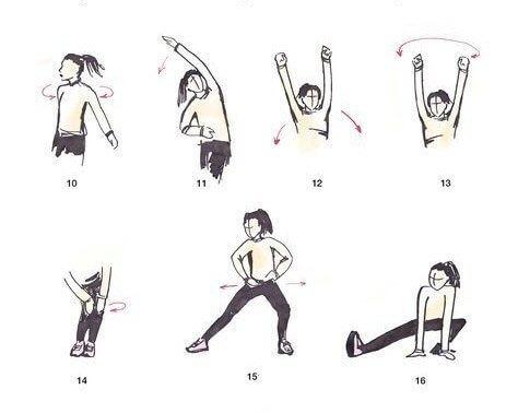 Разминка перед бегом: упражнения для начинающих