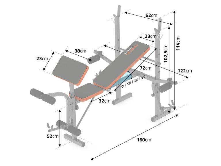 Скамья для жима лежа для дома, список возможных упражнений