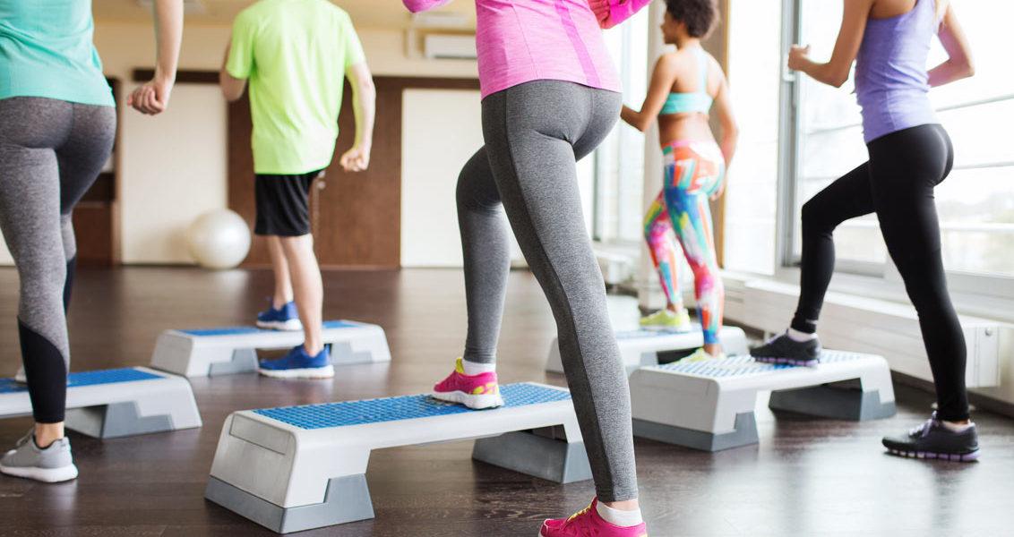 Cтеп аэробика для похудения в домашних условиях