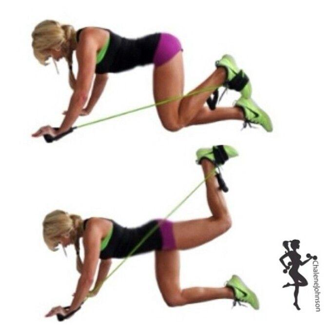 Комплекс упражнений с резинкой для фитнеса