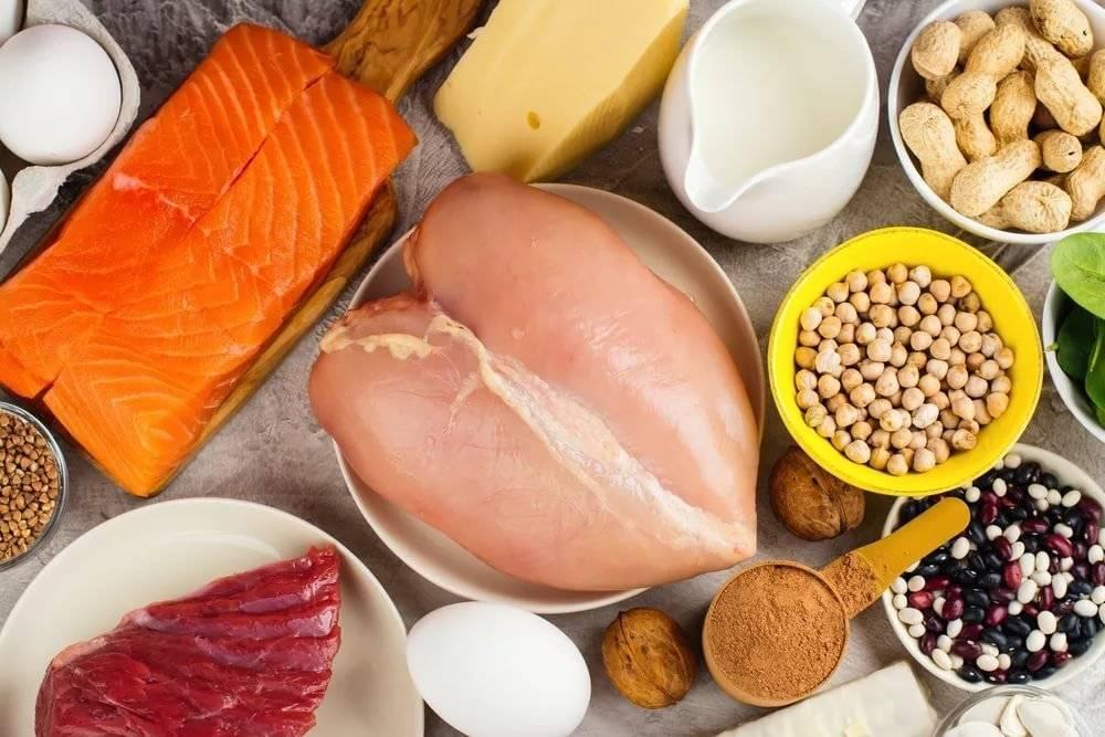 Высококалорийная диета для набора веса и мышечной массы - меню
