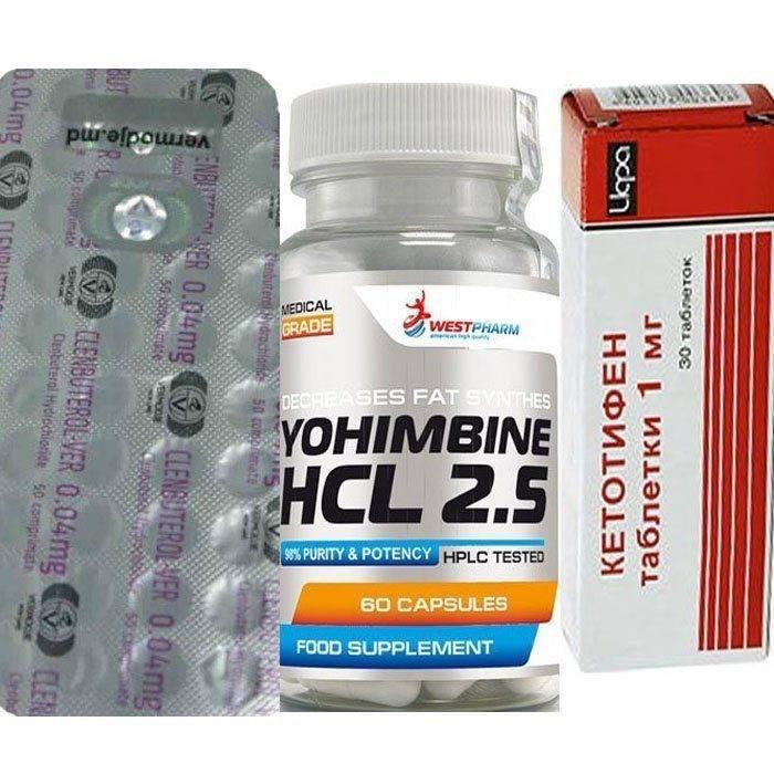 Йохимбина гидрохлорид - инструкция по применению для похудения, потенции и в спорте, дозировка и аналоги