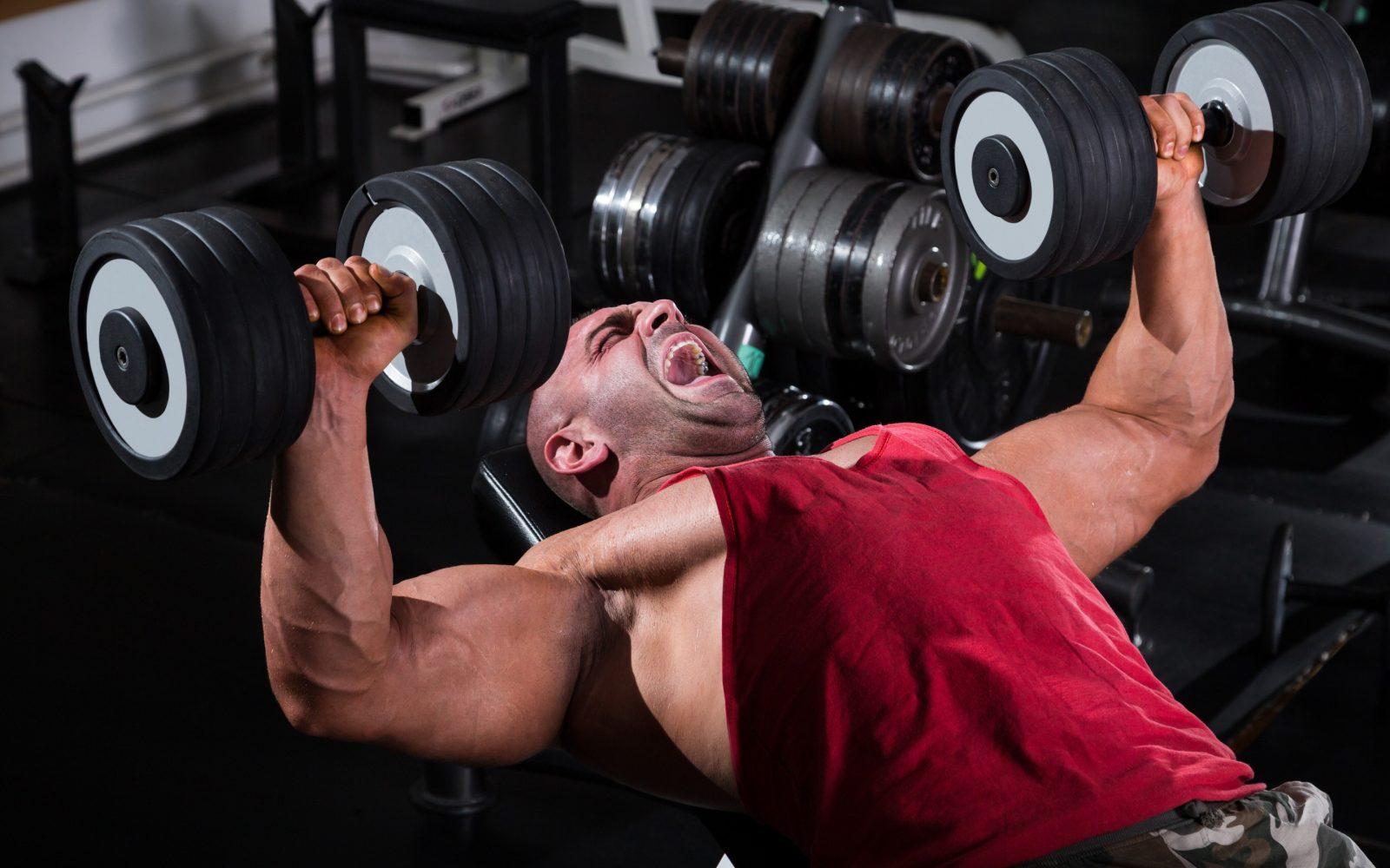 Как накачать мышцы дома