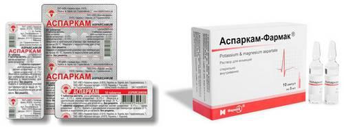 Рибоксин и аспаркам- можно ли принимать одновременно (совместимость) — онлайн консультация врачей