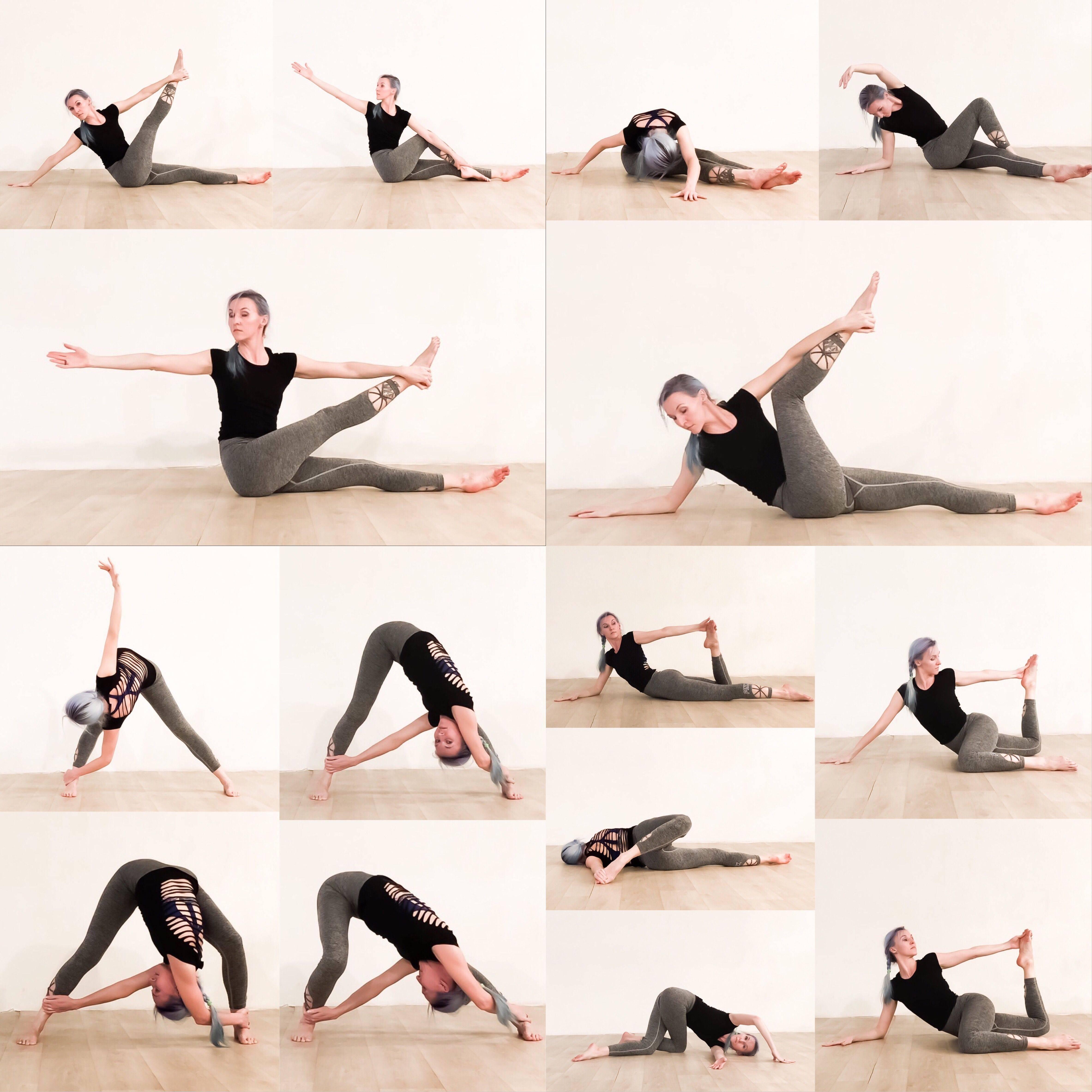8 простых поз йоги для начинающих