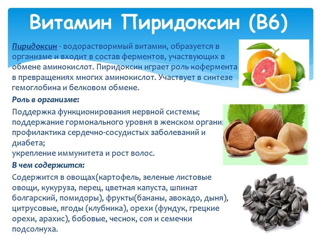 Витамин в12 (цианокобаламин): влияние на организм, дозировка