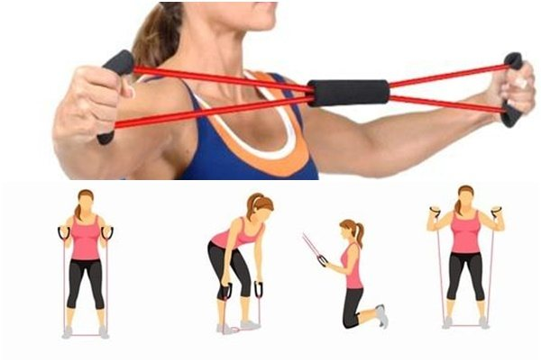 7 упражнений на спину с резинкой