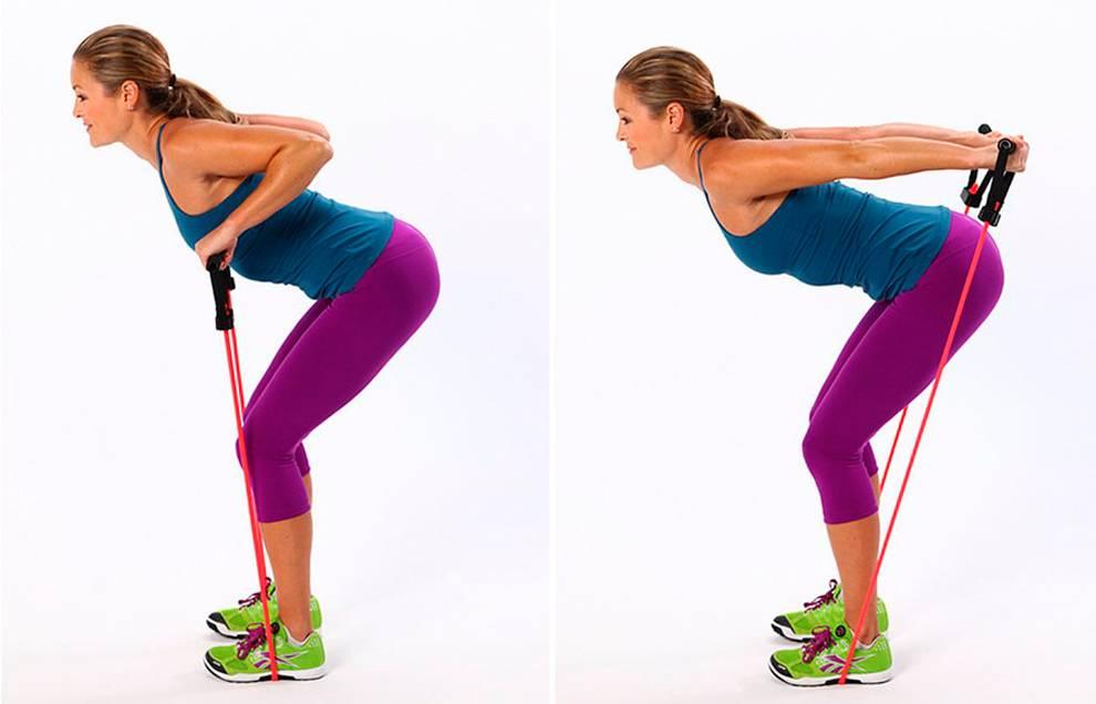 Упражнения с эспандером для мужчин и женщин в домашних условиях
