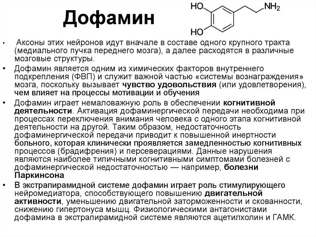 Дофамин: описание, инструкция по применению, лечение