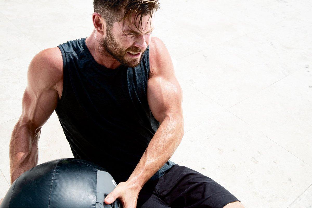 Советы по упражнениям от криса хемсворта, которые помогут тренироваться как тор | super.ua