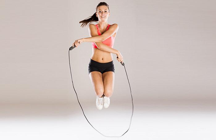 Прыжки на скакалке для похудения и о пользе занятий
