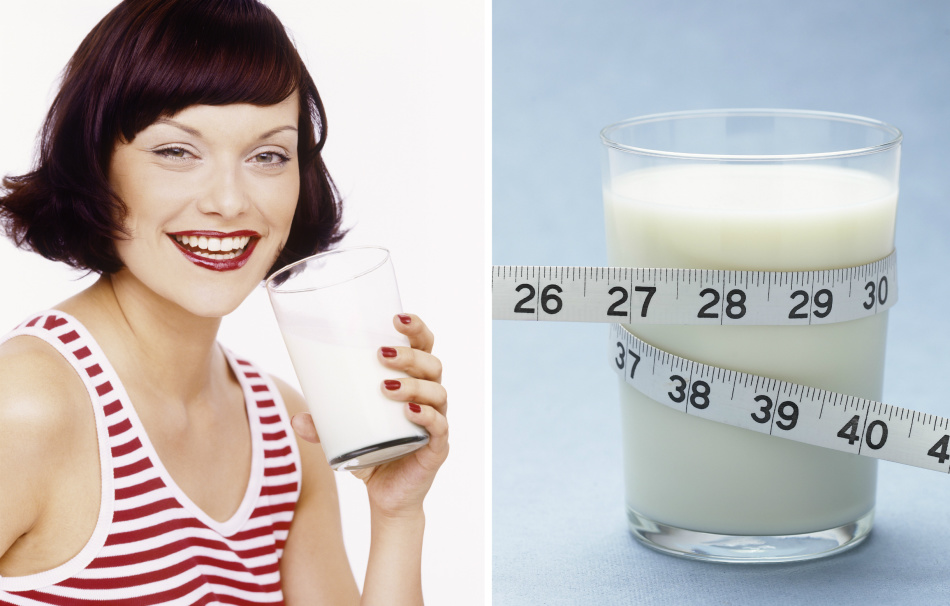 Молочные продукты и похудение: полезная и вредная молочка