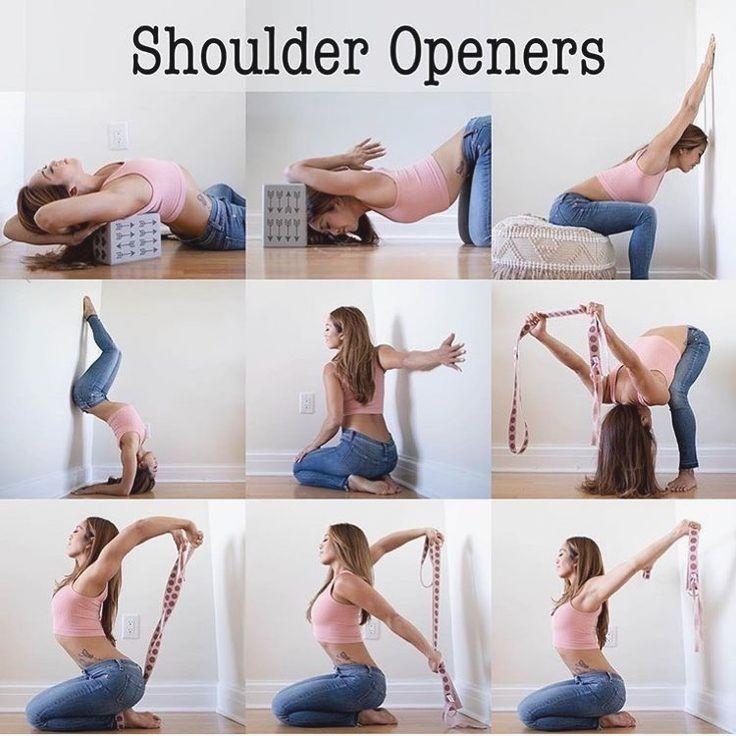 Йога при боли в шее и плечах