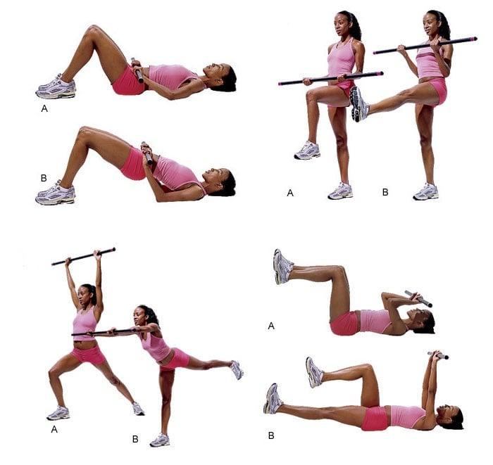 Бодибар (body bar) – что это такое. упражнения с гимнастической палкой для женщин, детей. видео