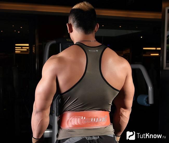 Тренировки с поясом. для чего нужен атлетический пояс?