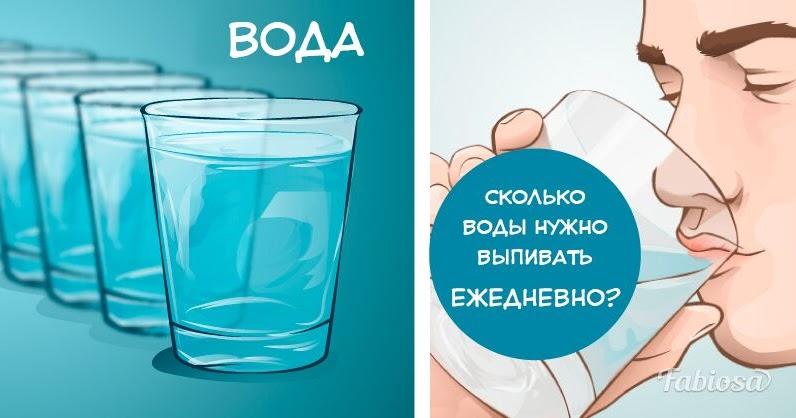 Достаточно ли вы пьете воды? организм подскажет сам: 8 признаков