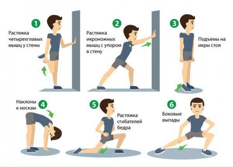 Правильная разминка перед бегом: 10 лучших упражнений