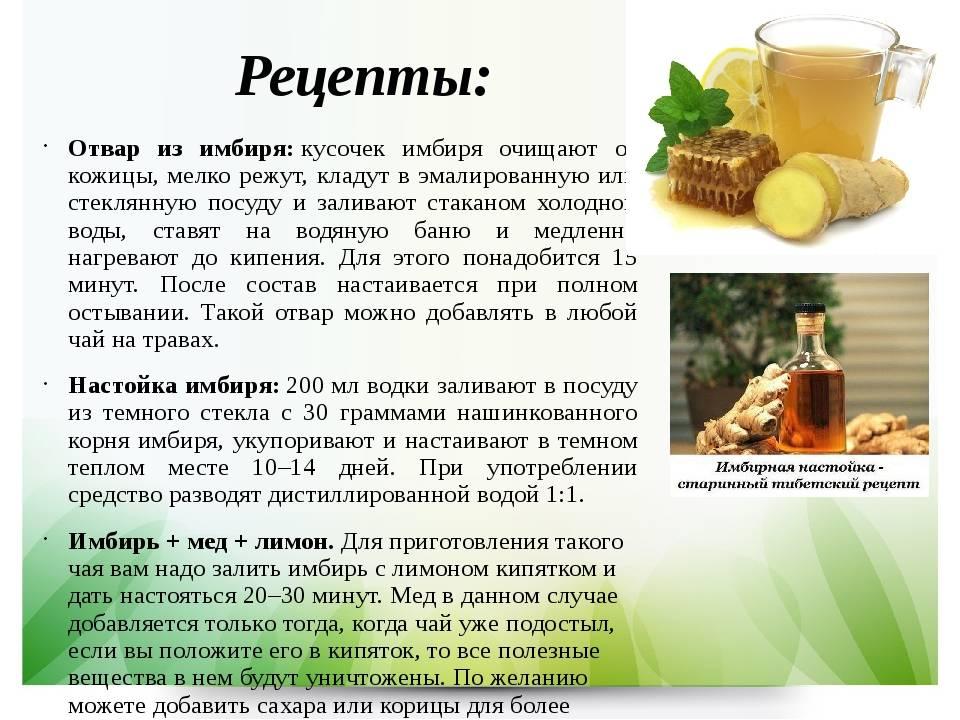 Вкусные рецепты из имбиря для похудения