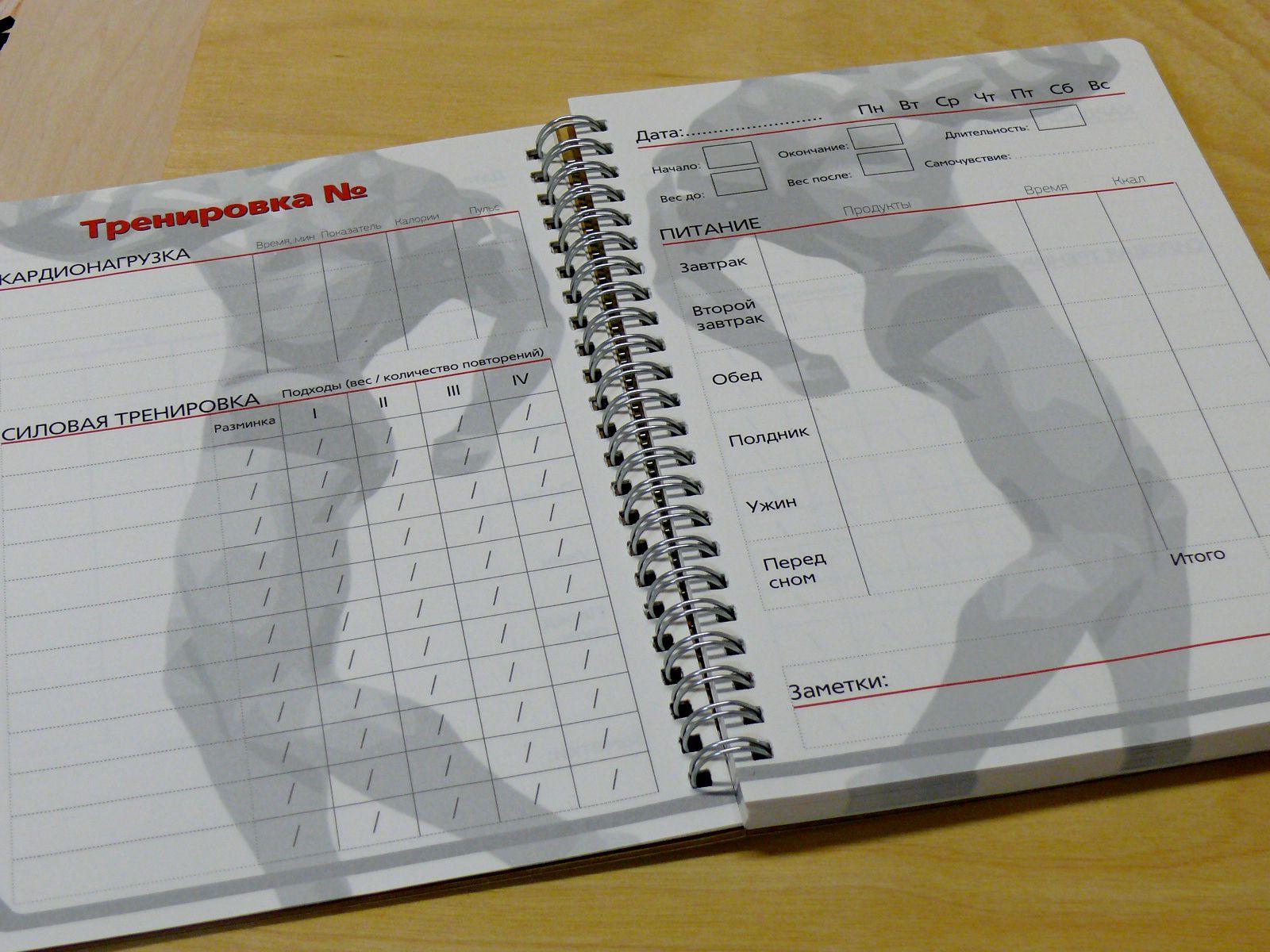 Фитнес дневник. почему важно ведение дневника тренировок  | жить интересно