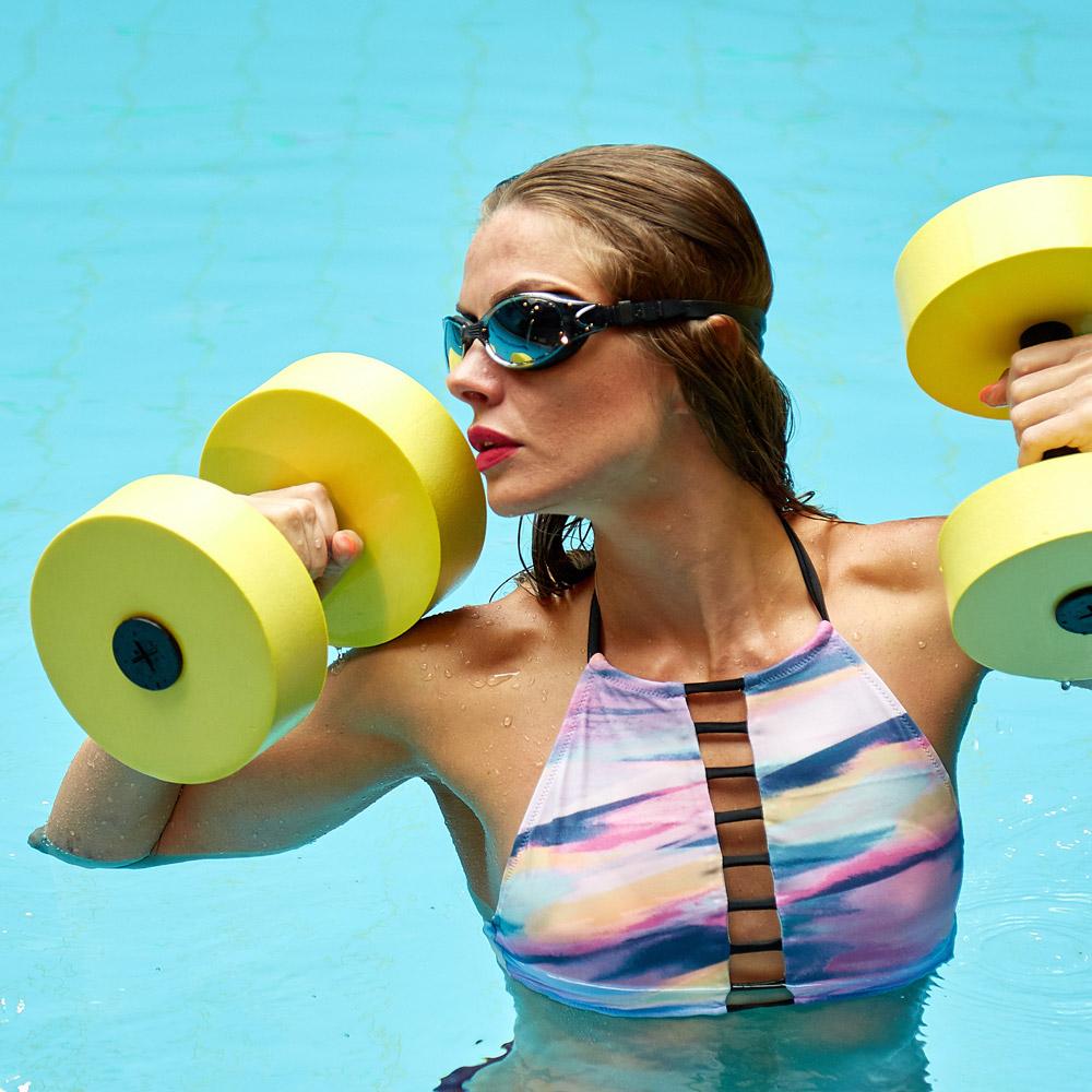 Аквааэробика для похудения – основные упражнения