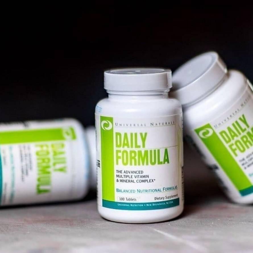 Витамины дейли формула как принимать