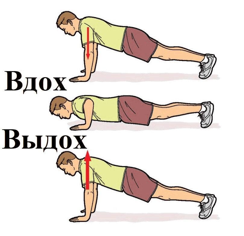 Как правильно дышать при выполнении разных упражнений