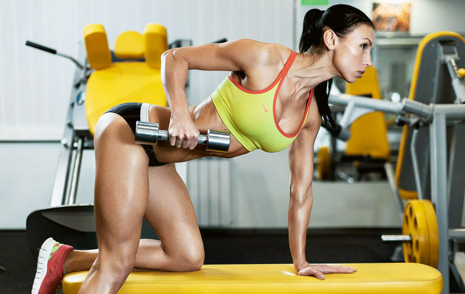 Упражнения и готовые программы тренировок рук для девушек в тренажерном зале | rulebody.ru — правила тела