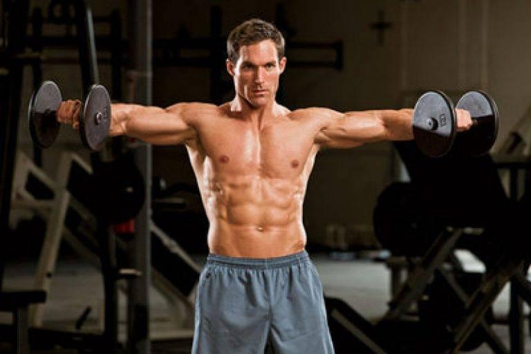 Как накачать плечи: 7 лучших комплексов упражнений на плечи в зале и дома