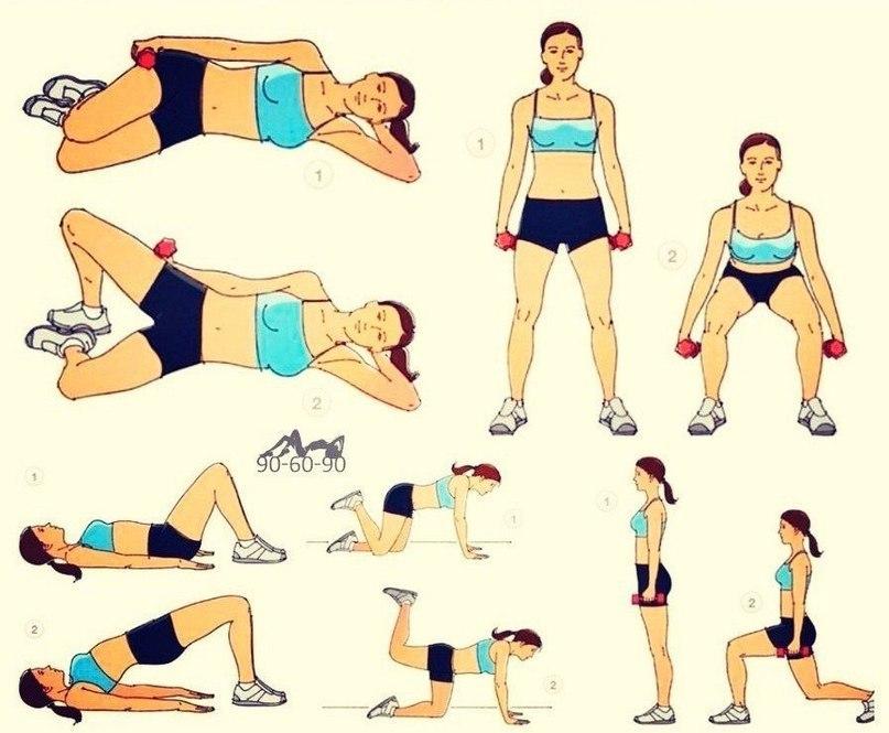 Как тренировать большую ягодичную мышцу дома