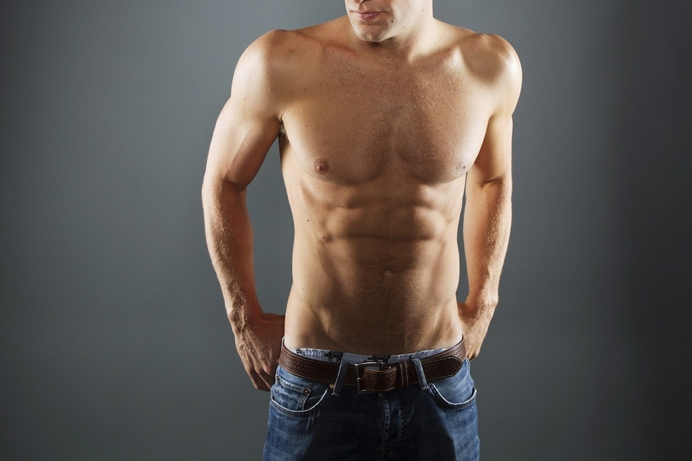 Программа тренировок в тренажерном зале для мужчин на рельеф, одновременно для набора массы и убрать живот и бока