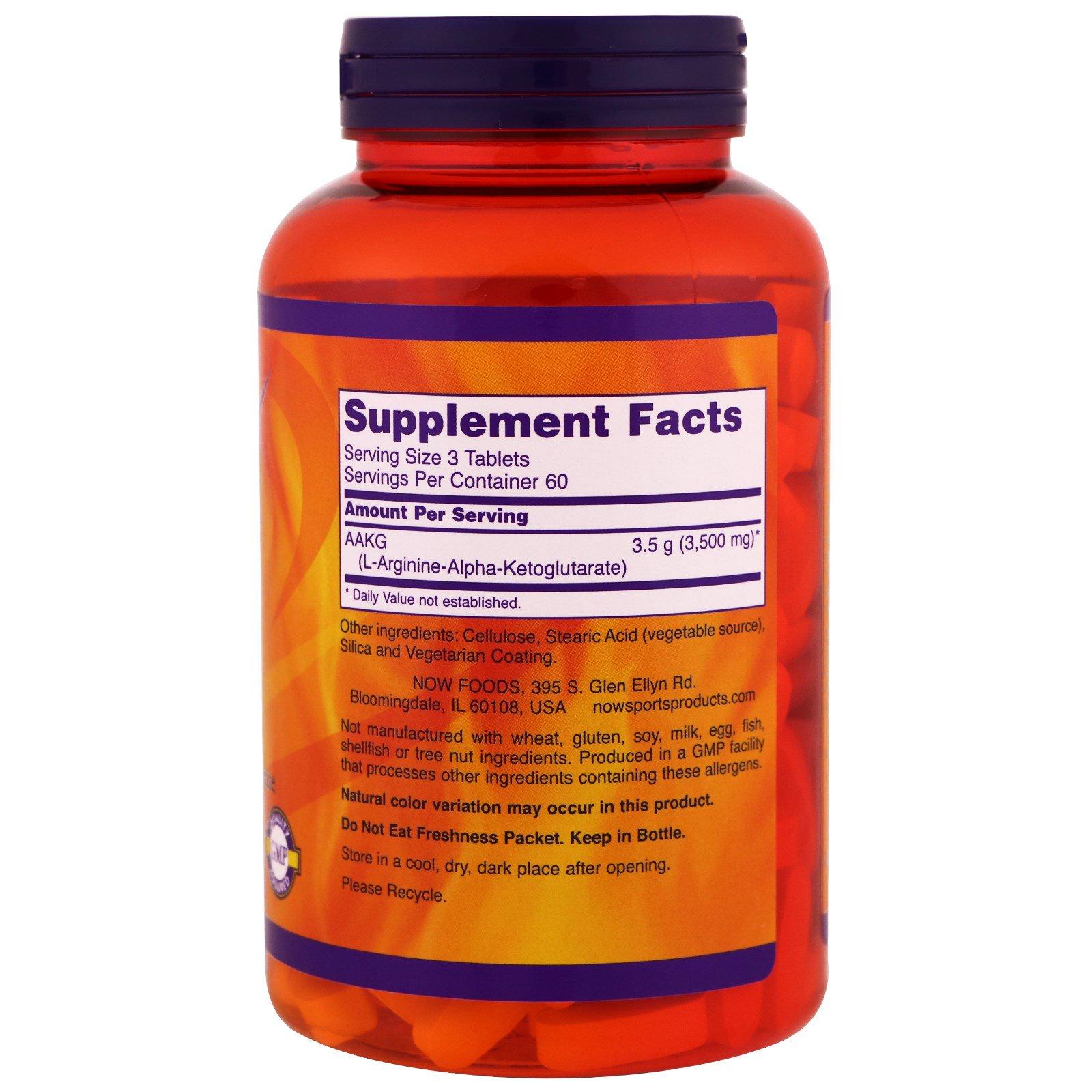 Как правильно принимать aakg от pureprotein? - мир здоровья