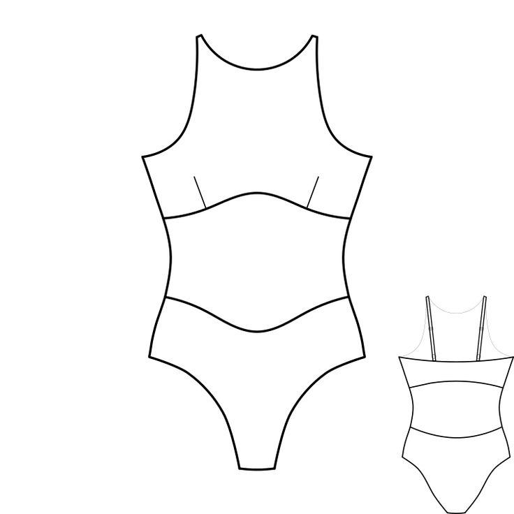 Купальник для фитнес бикини своими руками: выкройки, мастер-класс